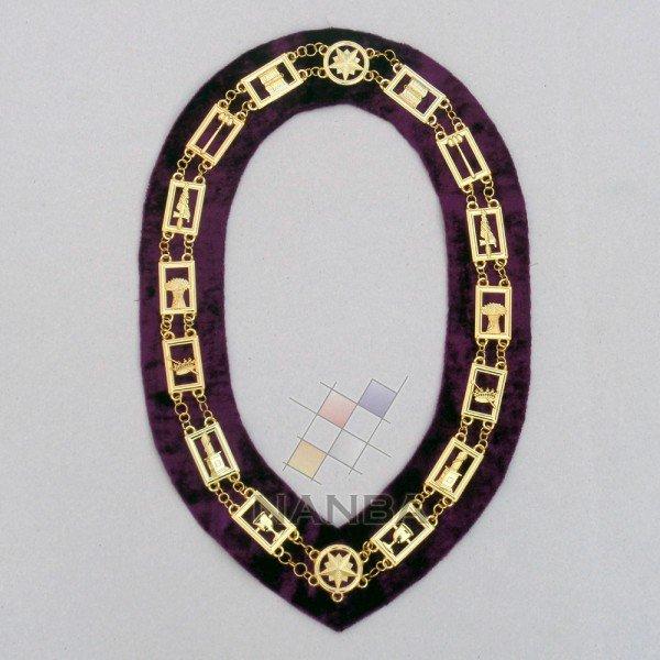 OES Regalia Chain Collar