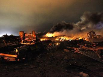 Etats-Unis : explosion meurtrière dans une usine d'engrais au Texas
