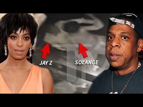 SOLANGE KNOLWES s'attaquant physiquement  son beau frère roi JAYZ%£££££££$$$$$$