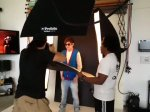 Here's some footage of the photoshoot!(: