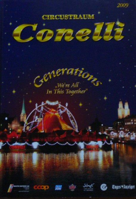 Programme Circus-Traum CONELLI 2009