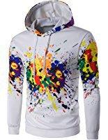 Cloudstyle Sweat-Shirt sweats à Capuche sportif imprimé pull garçon Homme: Amazon.fr: Vêtements et accessoires