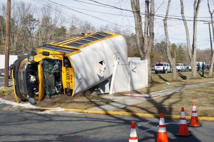 Un accident d'autobus fait 16 blessés dans le New Jersey | États-Unis