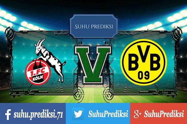 Prediksi Bola Koln Vs Borussia Dortmund 3 Februari 2018