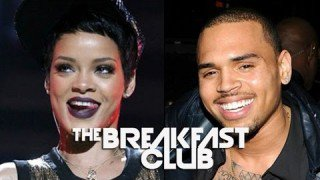 Chris Brown Attends Rihanna Monster Tour - The Breakfast Club