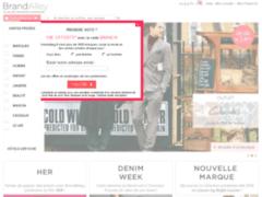 Brandalley : Grandes marques et de luxe à prix discount