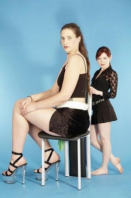 Video Tall Girls: Video tall female and plus giantess :