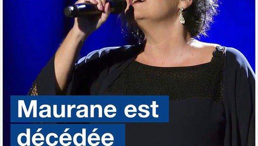 La chanteuse Maurane est décédée - Vidéo dailymotion