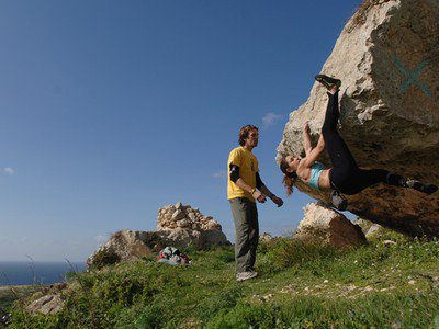 Bouldering Course in Malta