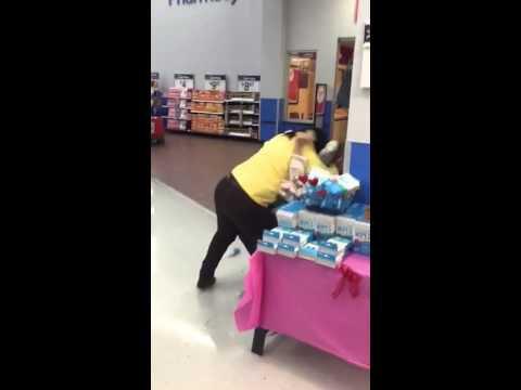 Embrouille dans un supermarché Wallmart au Texas