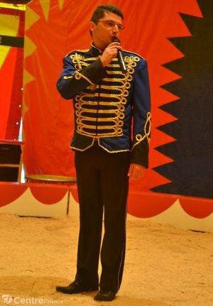 Thierry Granet vient d'obtenir le Trophée de la création d'entreprise pour sa société Cirque Event