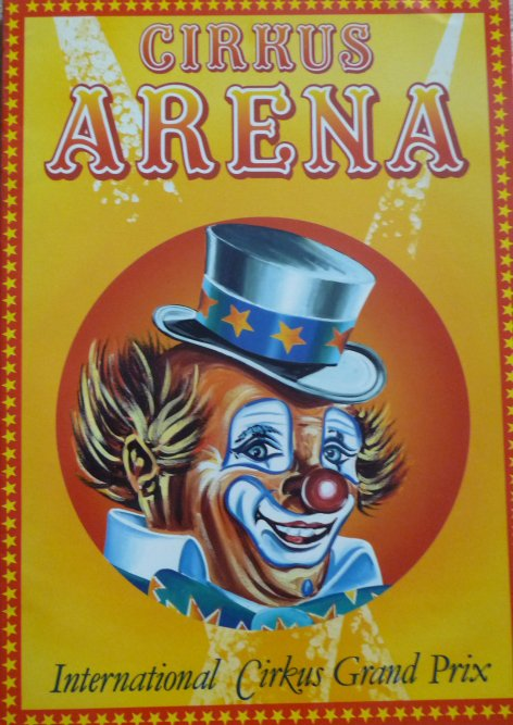 Programme cirkus ARENA 1990