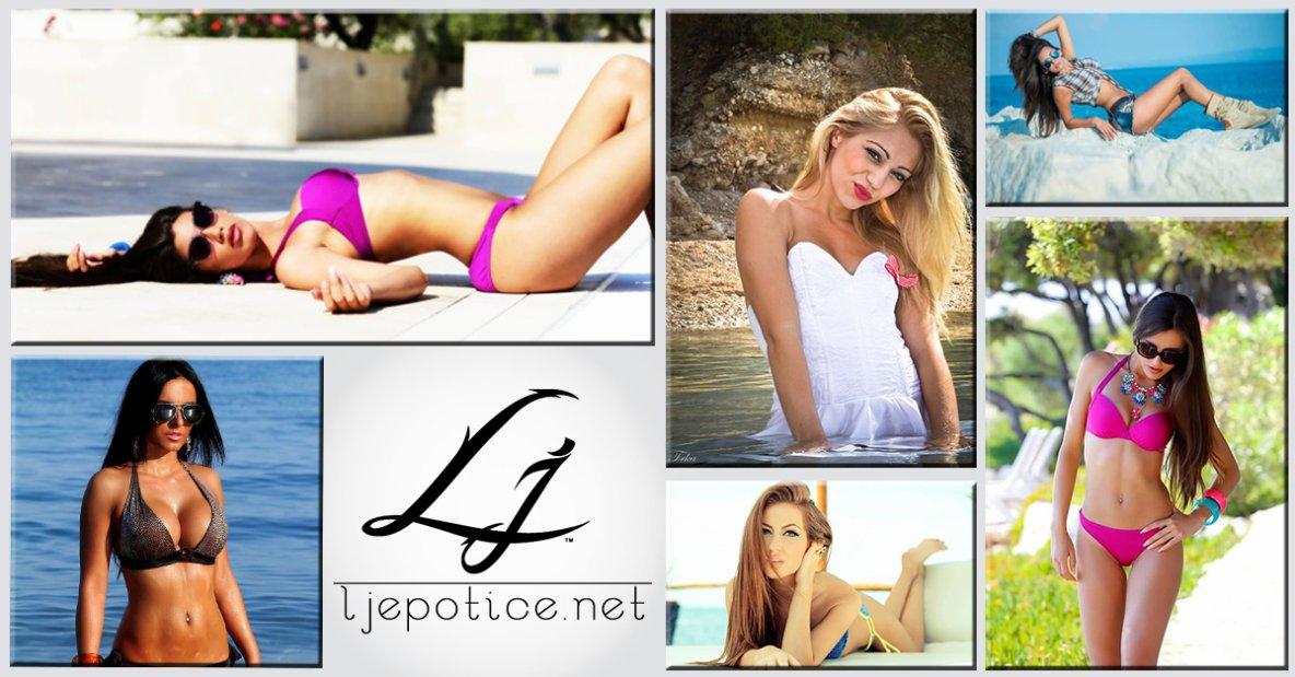 Ljepotice.net je projekt koji predstavlja najljep¨e ¸ene na području regije