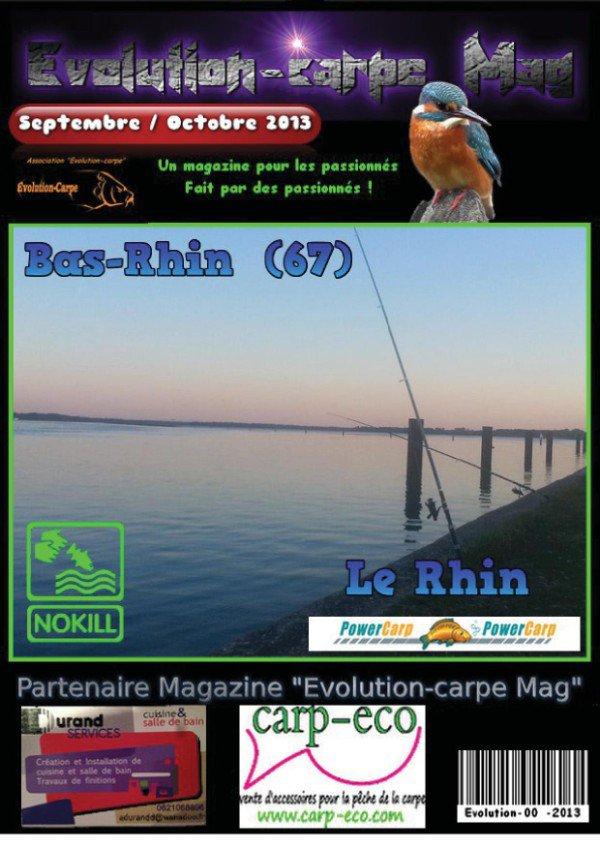Magazine n° 8- septembre/octobre 2013 - EVOLUTION CARPE