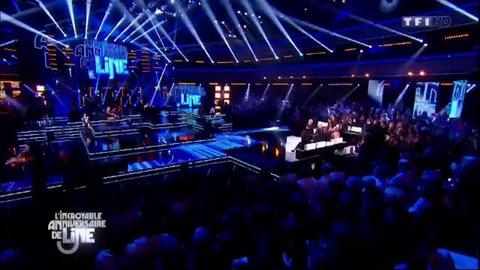 """Vidéo Christophe Maé et Line Renaud : """"Dans ma tête"""" - Replay TV"""