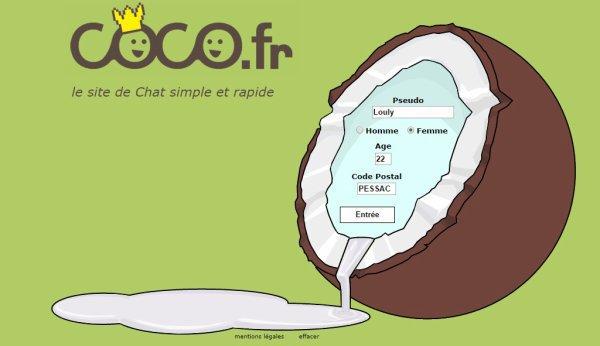 Coco.fr , le chat gratuit le chat gratuit en live le plus populaire...