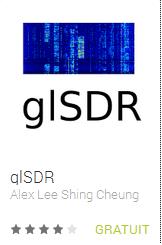F8RFL: APPLICATION ANDROID : glSDR
