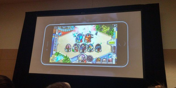 Hearthstone for iPhone just did not happen on the 9th of April!