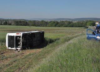 Bus scolaire renversé à Ladoix-Serrigny : plus de peur que de mal