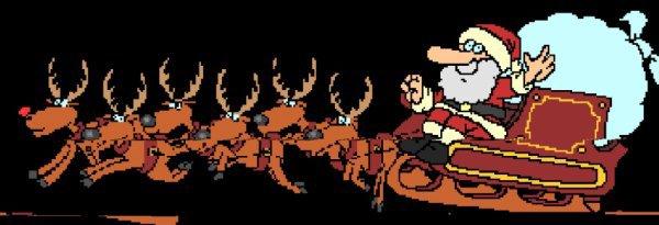 Papa Noël va bientôt venir ^^ lol