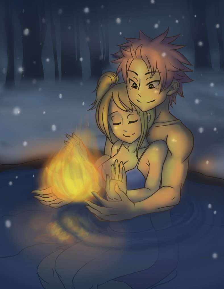 deviantART: More Like Fairy Tail - Lucy and Natsu by *Foxmi