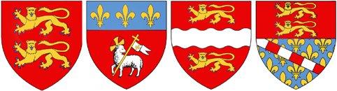 Héraldie: Blasons et logos des régions : la Haute-Normandie