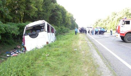 15 Russes sont morts dans un accident de la route en Ukraine