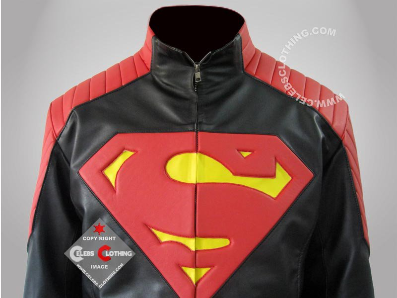 New Superman Red and Black Jacket