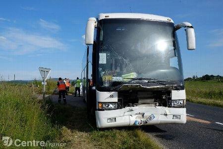 Sept enfants légèrement blessés dans un accident de bus