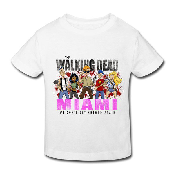 Walking Dead Miami Toddler T-shirt on Sale-HICustom.net