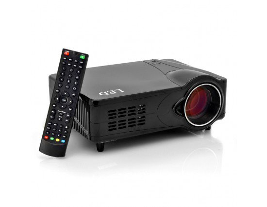 LED Multimedia Projector - 1000:1, 800x600, 2200 Lumens - Best Sellers - ahappymango.com