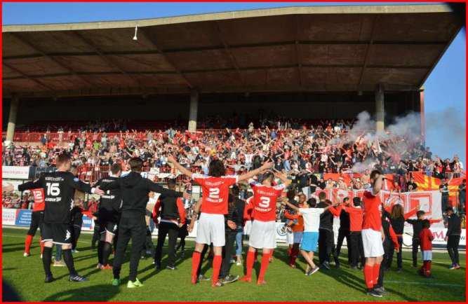 FC Rouen - Bayeux : 2-1 Le FC Rouen jouera en National 3 la saison prochaine !