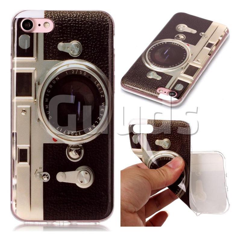 Camera IMD Soft TPU Back Cover for iPhone 6s 6 6G(4.7 inch) - TPU Case - Guuds