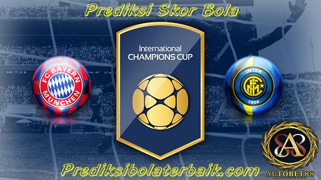 Prediksi Bayern Munchen vs Inter Milan 27 Juli 2017 - Prediksi Bola