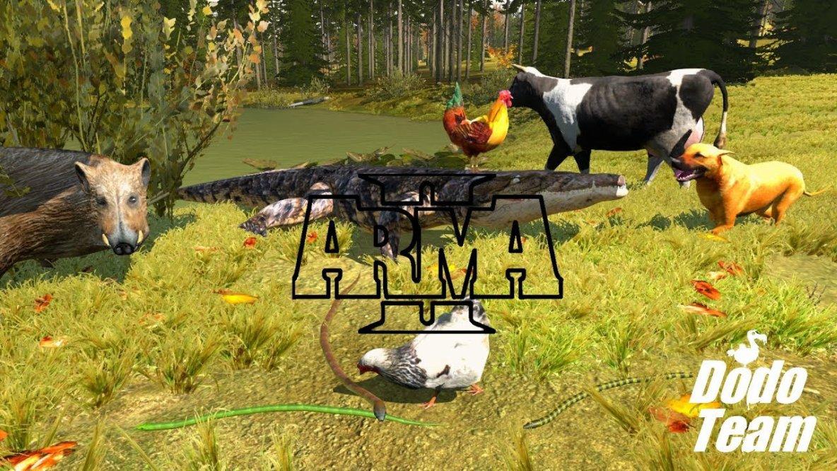 Arma 2 Tier Welt - Reptilien, Säugetiere und Insekten