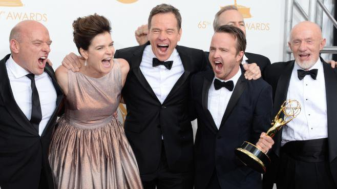 Breaking Bad  meilleure série aux Emmy Awards <3