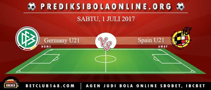 Prediksi Germany U21 Vs Spain U21 1 Juli 2017
