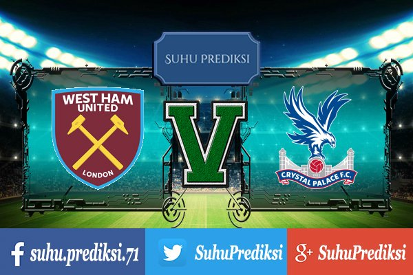 Prediksi Bola West Ham United Vs Crystal Palace 31 Januari 2018