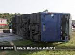 30 enfants blessés dans un accident de car en Allemagne