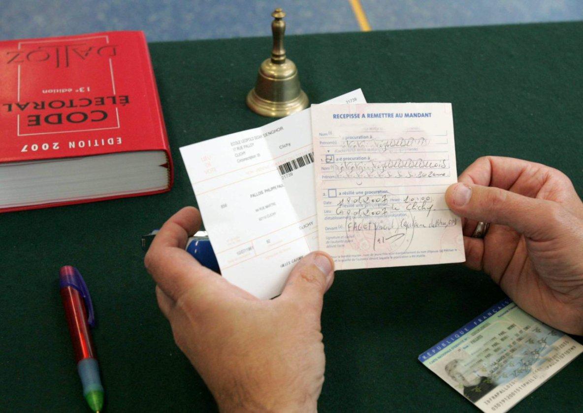Élections : comment voter par procuration ?