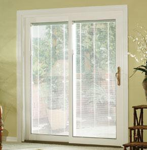 Etonnant Window Covering Designs | Patio Sliding Doors With Blinds