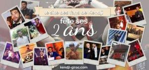 Le site des fans de Kendji fête ses 2 ans avec deux belles surprises ! - Kendji Girac