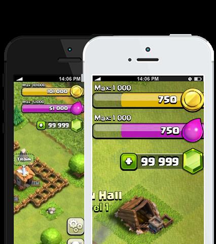 Clash of clans pour iPhone : comment obtenir gratuitement Gemmes | Astuce Clash Of Clans Triche
