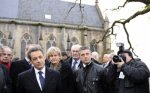 Nicolas Sarkozy rend hommage à Jeanne d'Arc à Domrémy - RTL.fr