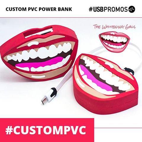 Custom PVC Power Banks