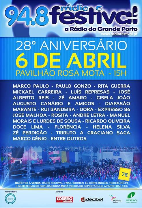 Mickael Carreira convidado na Festa da Rádio