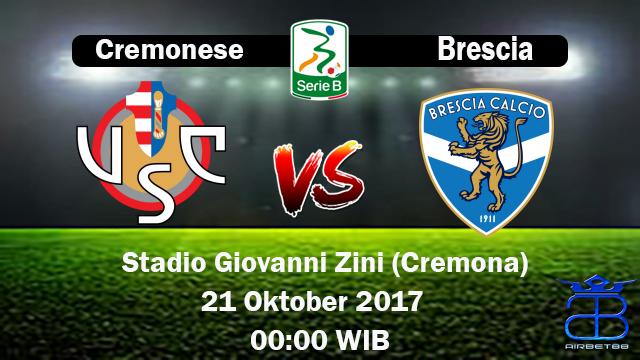 Prediksi Cremonese VS Brescia 21 Oktober 2017 | Prediksiskorbolajitu |
