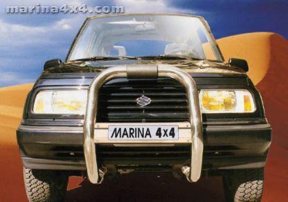 RAMM BIG BAR INOX Ø 76 SUZUKI VITARA 96+ 5P TD+V6