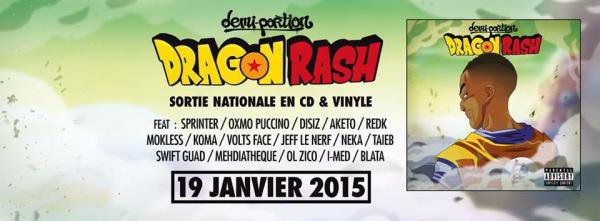 "DEMI PORTION • Nouvel album ""DRAGON RASH"""