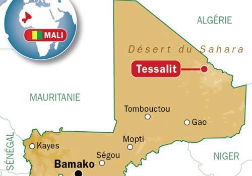 La France va installer une base militaire au nord du Mali, près de la frontière algérienne